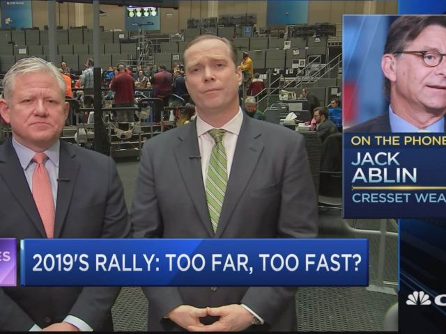 Jack Ablin says Pullbacks should be embraced In this sloppy market.